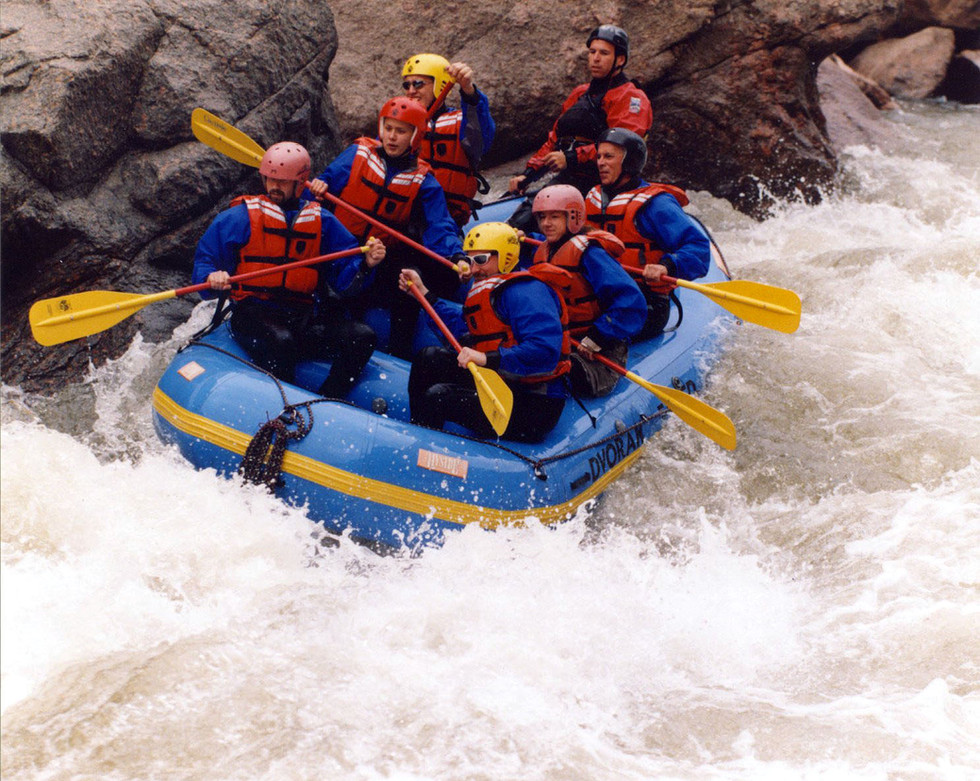 Rafting the Arkansas - Summer 2004