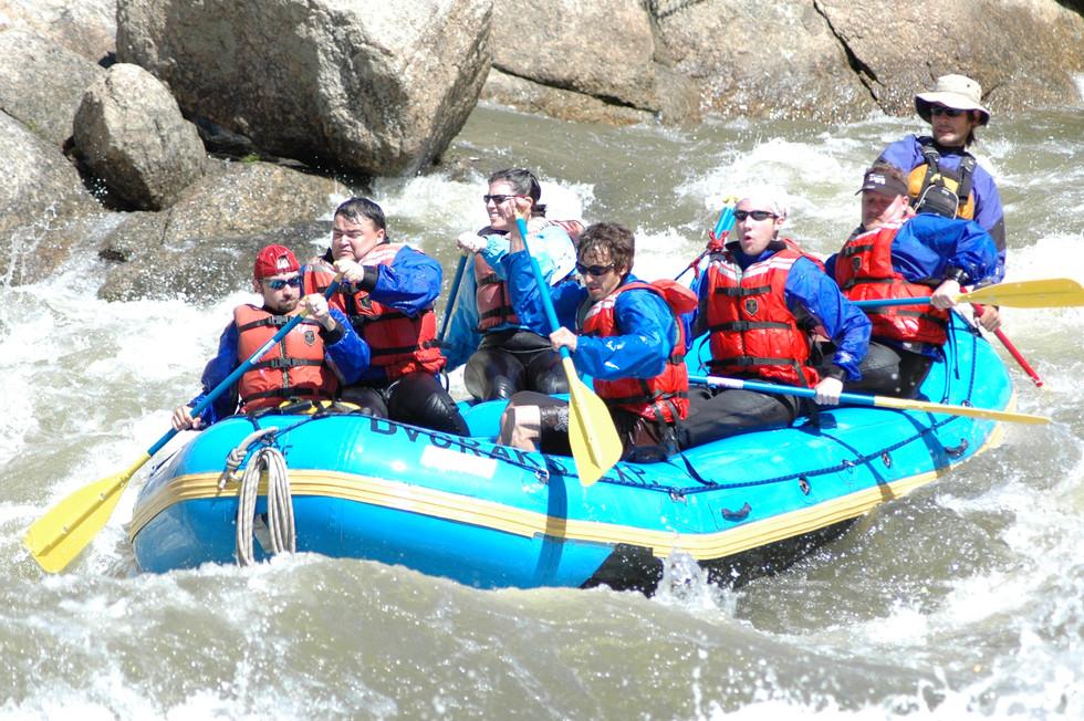 Rafting the Arkansas - Summer 2008