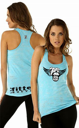 Flying WODdawg Fitness Burnout Tank