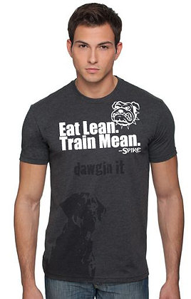 EAT LEAN.TRAIN MEAN Fitness MENS Shirt