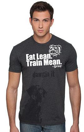 EAT LEAN.TRAIN MEAN Fitness MENS Shirt