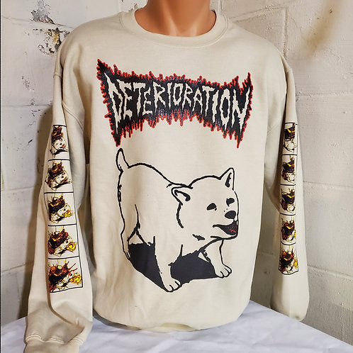 Deterioration - Man's Best Friend Crewneck Sweatshirt