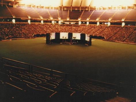 Worls Series Metrodome 1987 Twins vs Cardinals 30,000 Seats