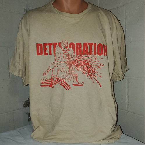Deterioration - Iron Sheik T-shirt (Flawed)