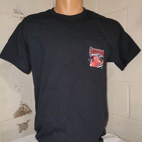Deterioration - Chainsaw Charlie Pocket T-Shirt