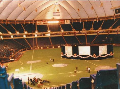 World Series Metrodome 1987 Twins vs Cardinals 30,000 Seats