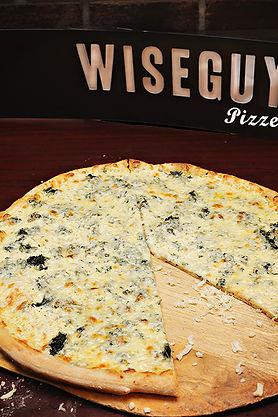 Wiseguys Pizzeria Ocala White Cheese Delicous Pizza