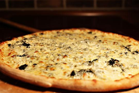 Wiseguys White Cheese Pizza