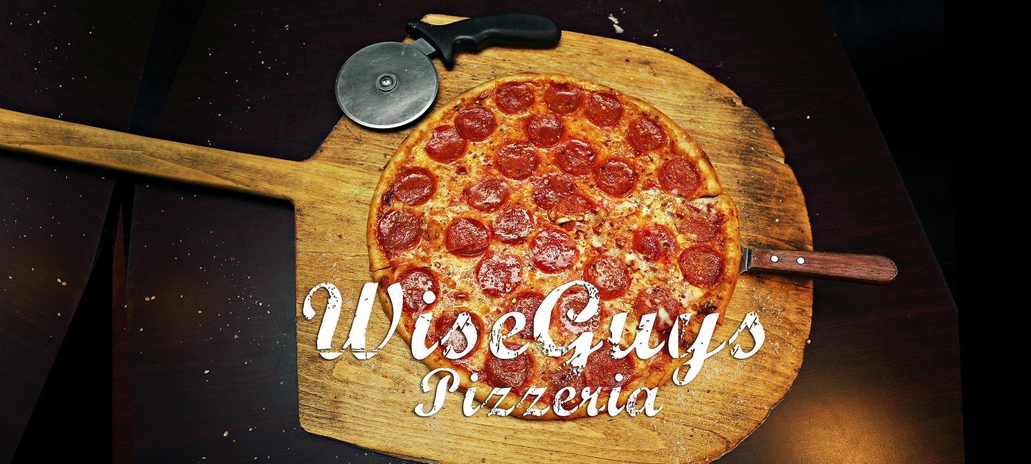 Pizza made by Wiseguys Pizzeria in Ocala, Florida