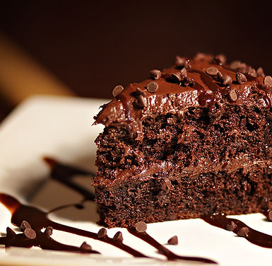 Wiseguys of Ocala, Florida chocolate cake