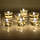 Thumbnail: Premium Vegan Soy Wax Tea Lights 7 Hours Transparent Clear Cup Pack of 72