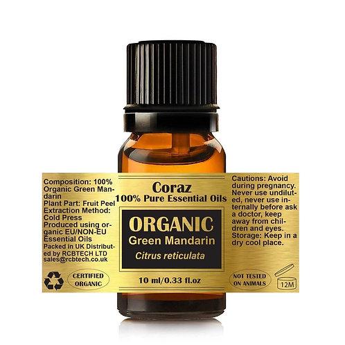 Green Mandarin 100% Organic Essential Oil Citrus Reticulata