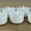 Thumbnail: Premium Vegan Soy Wax Tea Lights 4 Hours Transparent Clear Cup Pack of 90