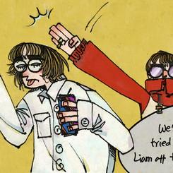 Oasis comic