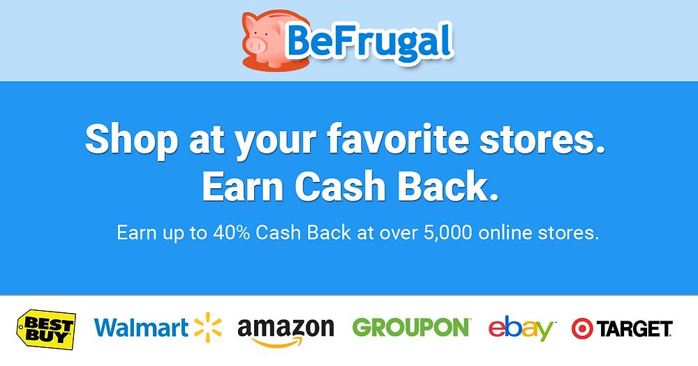 BeFrugal grocery cashback app