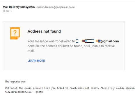 """""""Address Not Found"""" Gmail Outage And Other Outages?!!"""