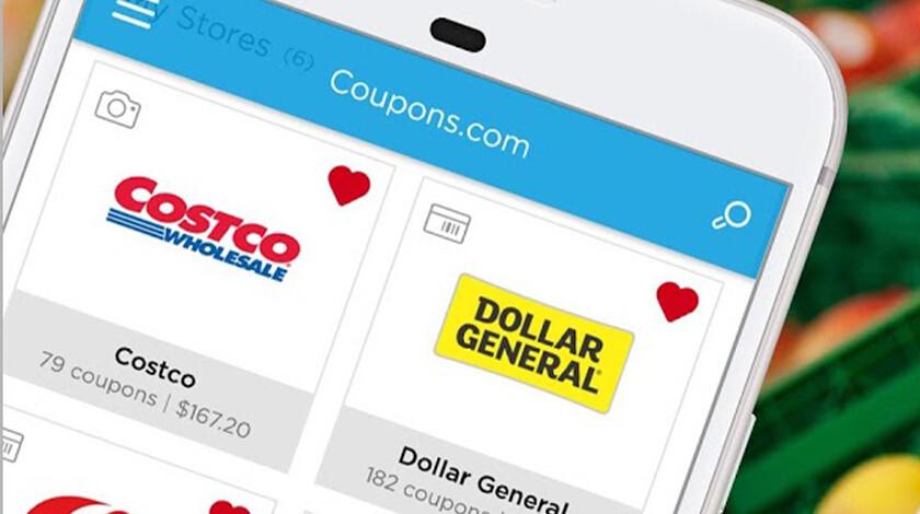 Coupon.com mobile app screenshot