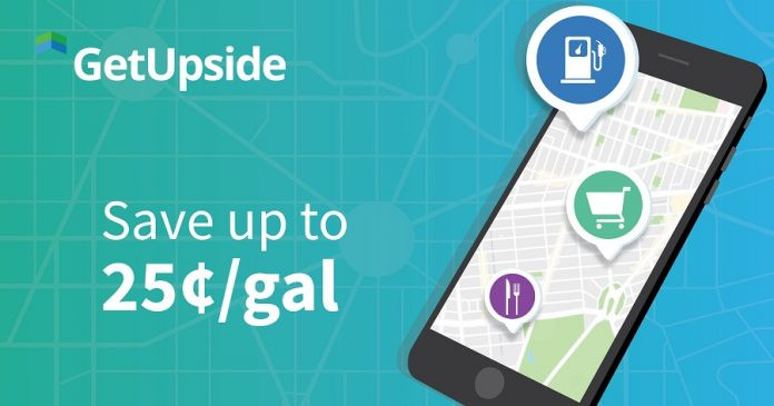 Picture of GetUpside mobile app