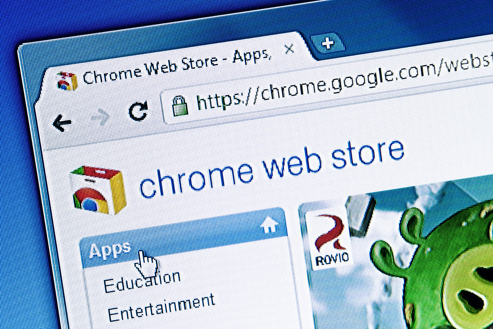 screenshot of Chrome Browser Extension in chrome browser