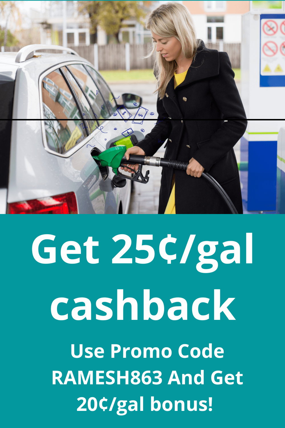 GetUpside photo with promotional code