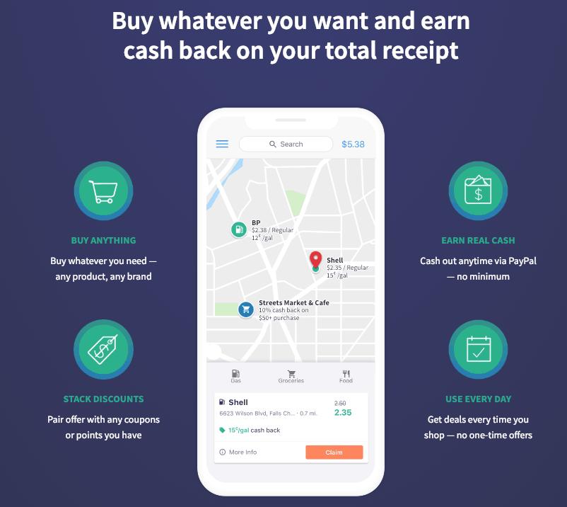 GetUpside mobile gas app