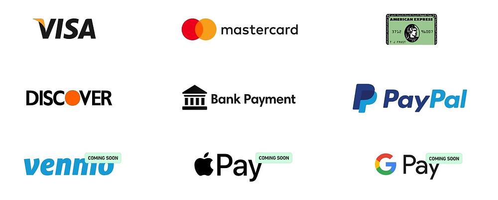 Fluz app payment methods