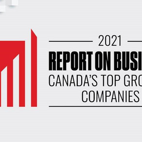 RE Royalties Named on The Globe and Mail's Ranking of Canada's Top Growing Companies