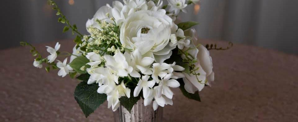 Silk Florals in Vase