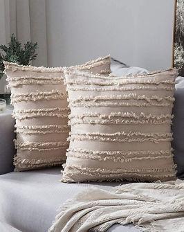 Tassels Design Beige Cushions.jpg