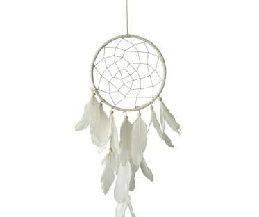 White Feather Dreamcatcher
