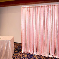 Pink Ribbon Curtain