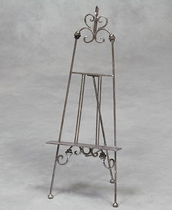 Silver Ornate Table Top Easel.jpg
