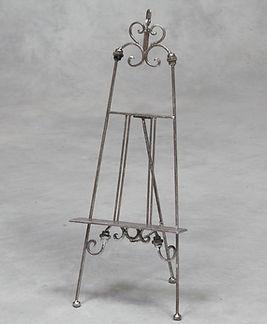 Silver Ornate Table Top Easel.jpg