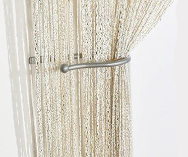 Ivory/Cream String Curtain Backdrop Panel