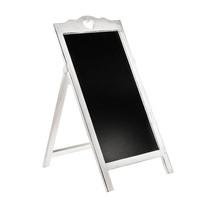 White Free Standing Blackboard
