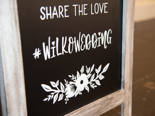 How To Make Your Own Wedding Hashtag