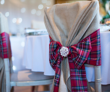Royal Stewart Tartan Chair Sash