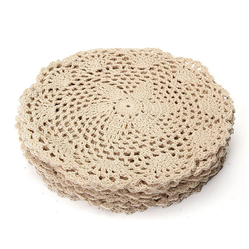 king do way 12pcs Hand Crocheted Doilies