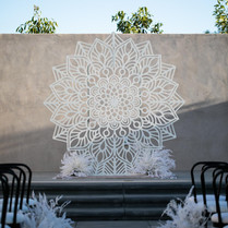 Giant Mandala Backdrop