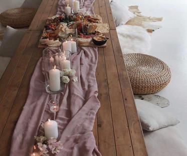Low Trestle Table