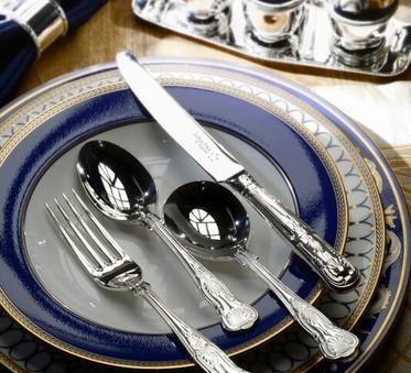 Classic King Silver Mirror Cutlery
