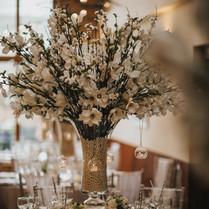 Magnolia and Blossom Centrepiece