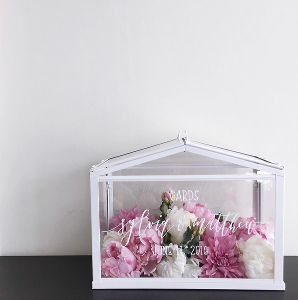 Greenhouse Customised Wedding Postbox