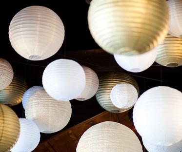 20 Inch Ivory Round Paper Lanterns