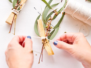 Make Your Own Palo Santo Bundle Wedding Favours