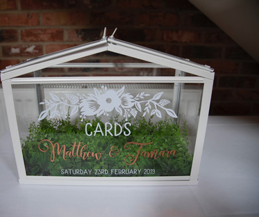 Customisable Table Greenhouse Postbox