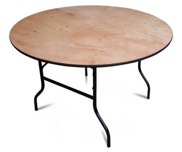 3ft Round Trestle Cake Table