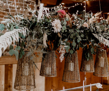 Medium Seagrass Lantern