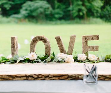 """Birch Wood 12"""" Love Letters"""