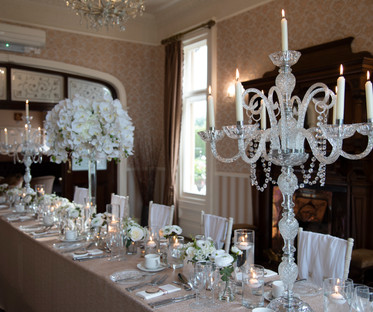 White Orchid Centrepiece